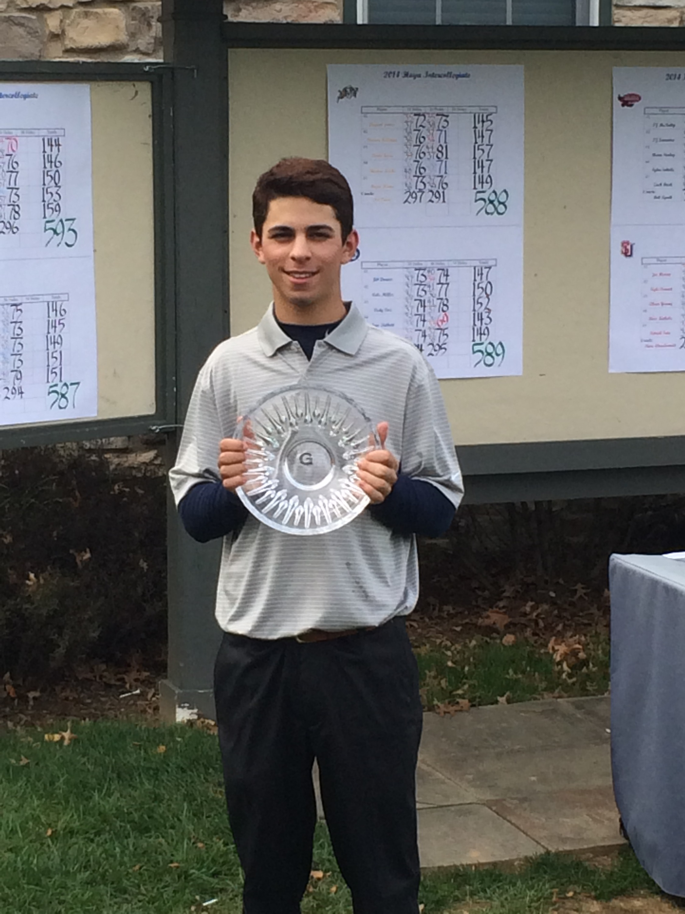 Cole Berman claimed his second individual title of the fall at the Georgetown Intercollegiate