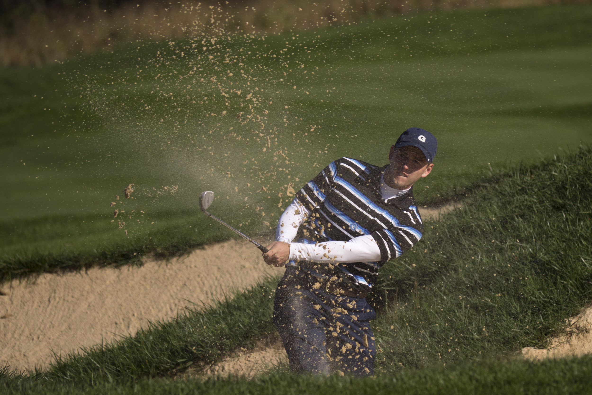 The Hoyas begin competition at the Firestone Invitational on Monday.