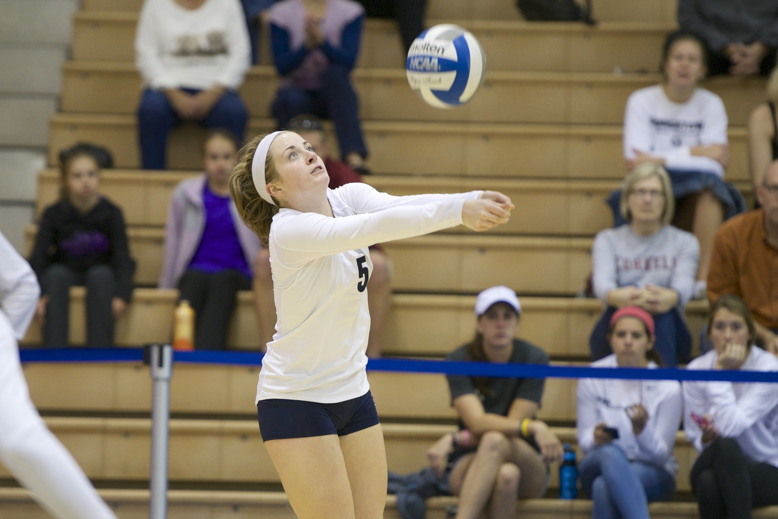 Casey Speer is averaging 10.31 assists per set since taking over the setting duties on Oct. 10.