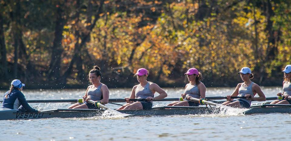 The Varsity Eight won two of its three pieces Saturday vs. Bucknell.