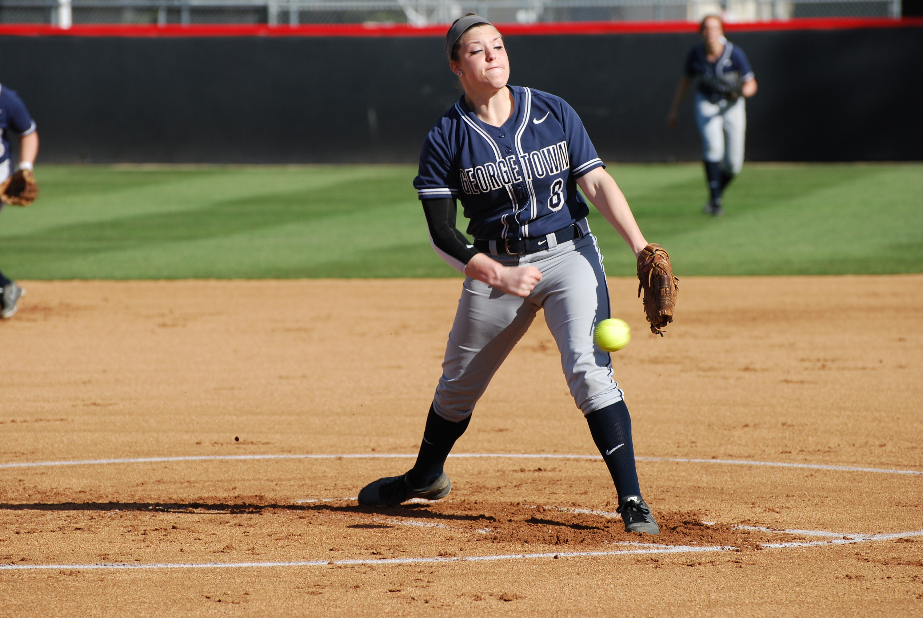 Hyson earned her fifth BIG EAST award of the season on Monday.
