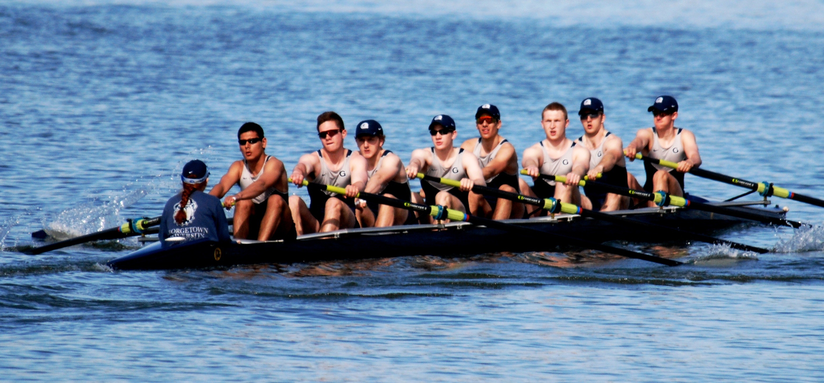 The Hoyas went 7-3 on the weekend, finishing third overall in the point standings.