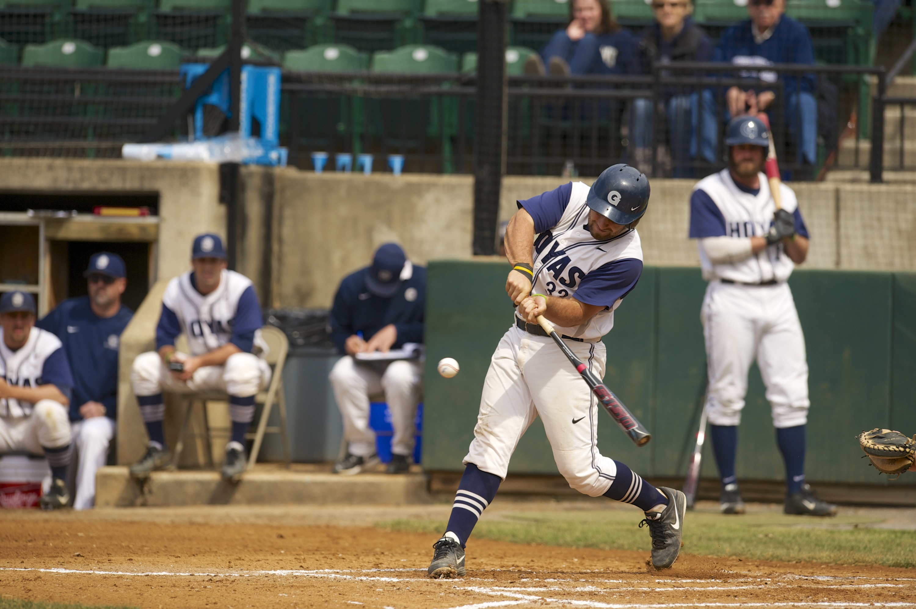 Nick Collins had two hits and two RBI on Wednesday.