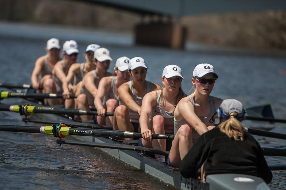 The Hoyas took fifth-place overall with 33 points at the Patriot League Championships.
