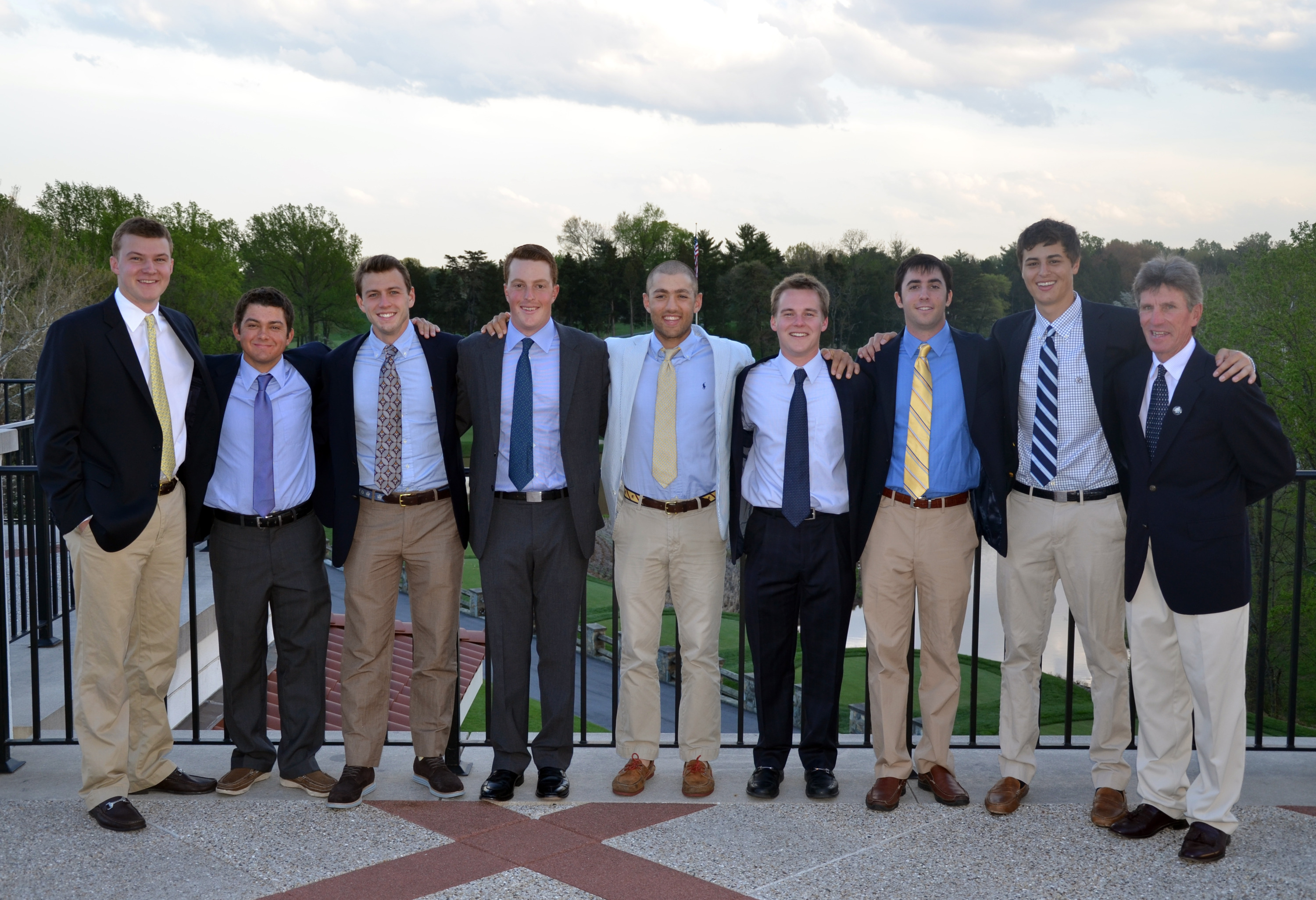 The Hoyas were sponsored by Tim McBride at Congressional Country Club for its post-season banquet.
