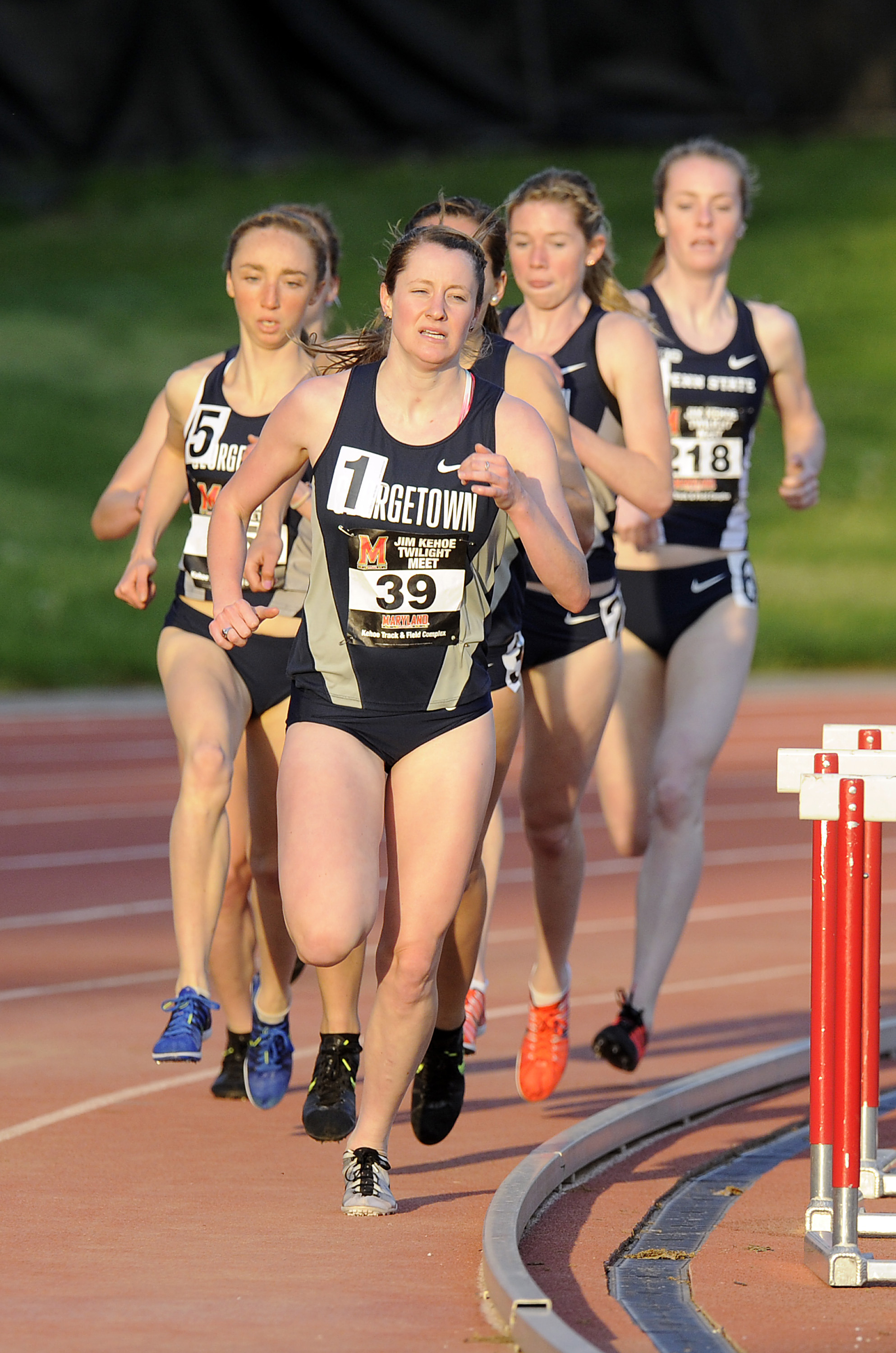 The Hoyas send 29 to compete at the 2014 NCAA T&F East Prelim.