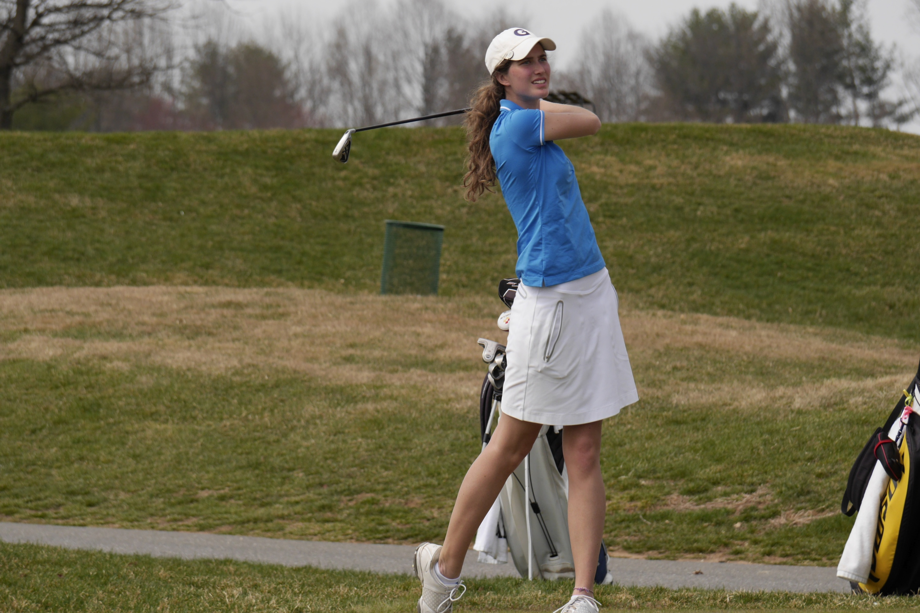 Three Georgetown University women's golfers were among a group of student-athletes selected by the Women's Golf Coaches Association (WGCA) as All-American Scholars.
