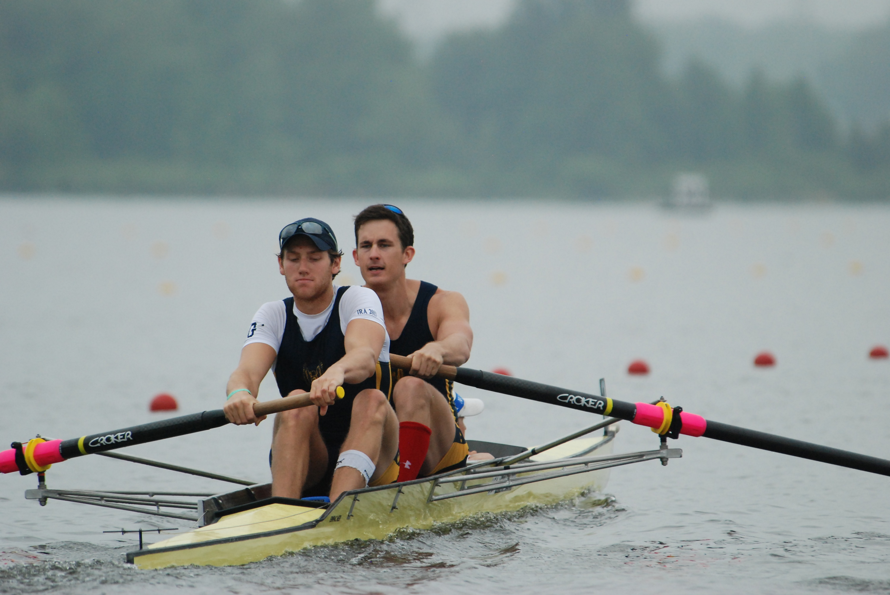 Henry Hoffstot (stroke) and Jack Carlson (coxswain) will represent the U.S. in Amsterdam next week.