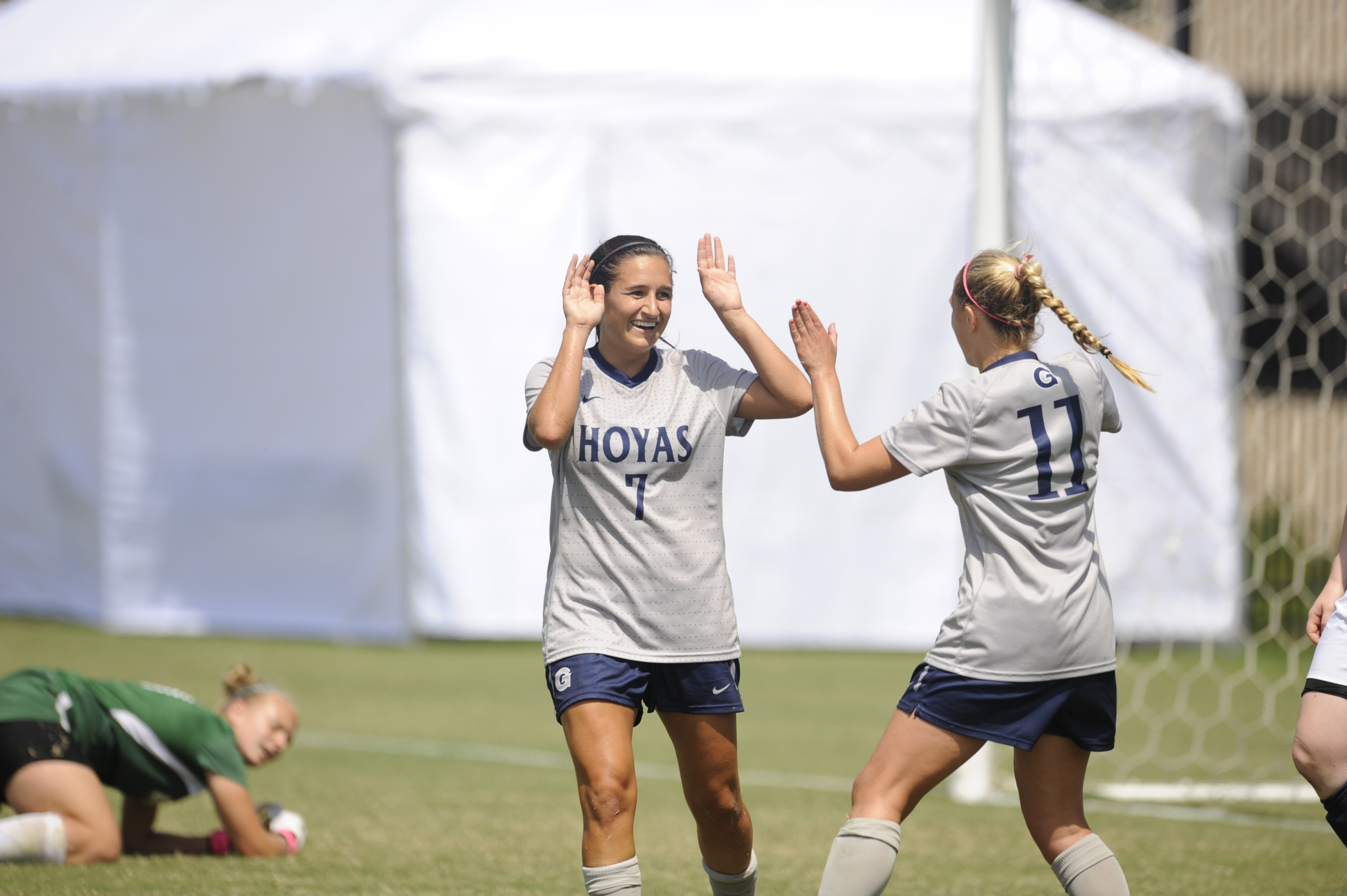 The 15th-ranked Georgetown University women's soccer team plays its home opener on Friday, Aug. 29, hosting North Carolina State on Shaw Field at 3 p.m.