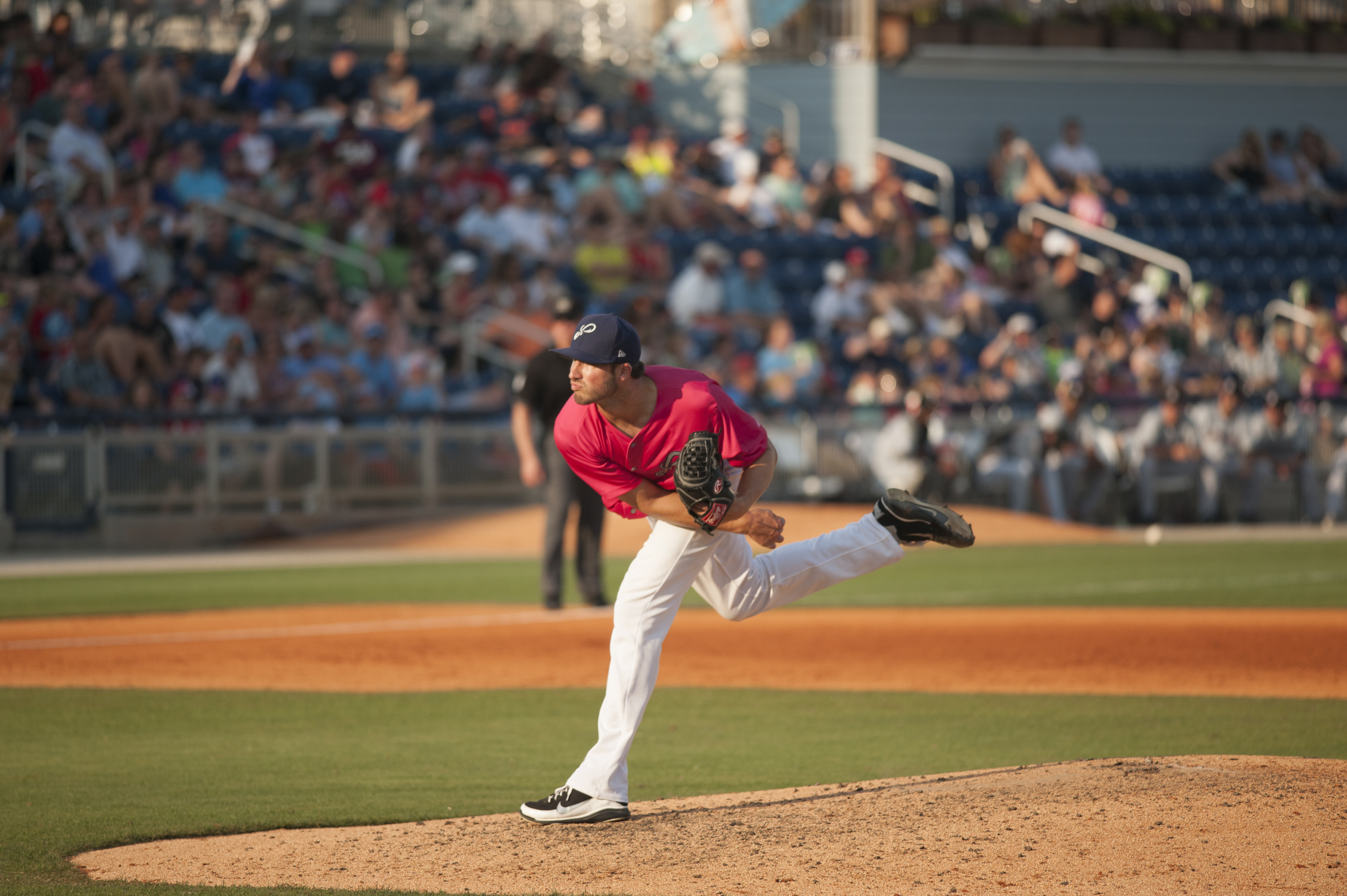 Tim  Adleman went 9-10 with a 2.64 ERA and 113 strikeouts for the Pensacola Blue Wahoos.
