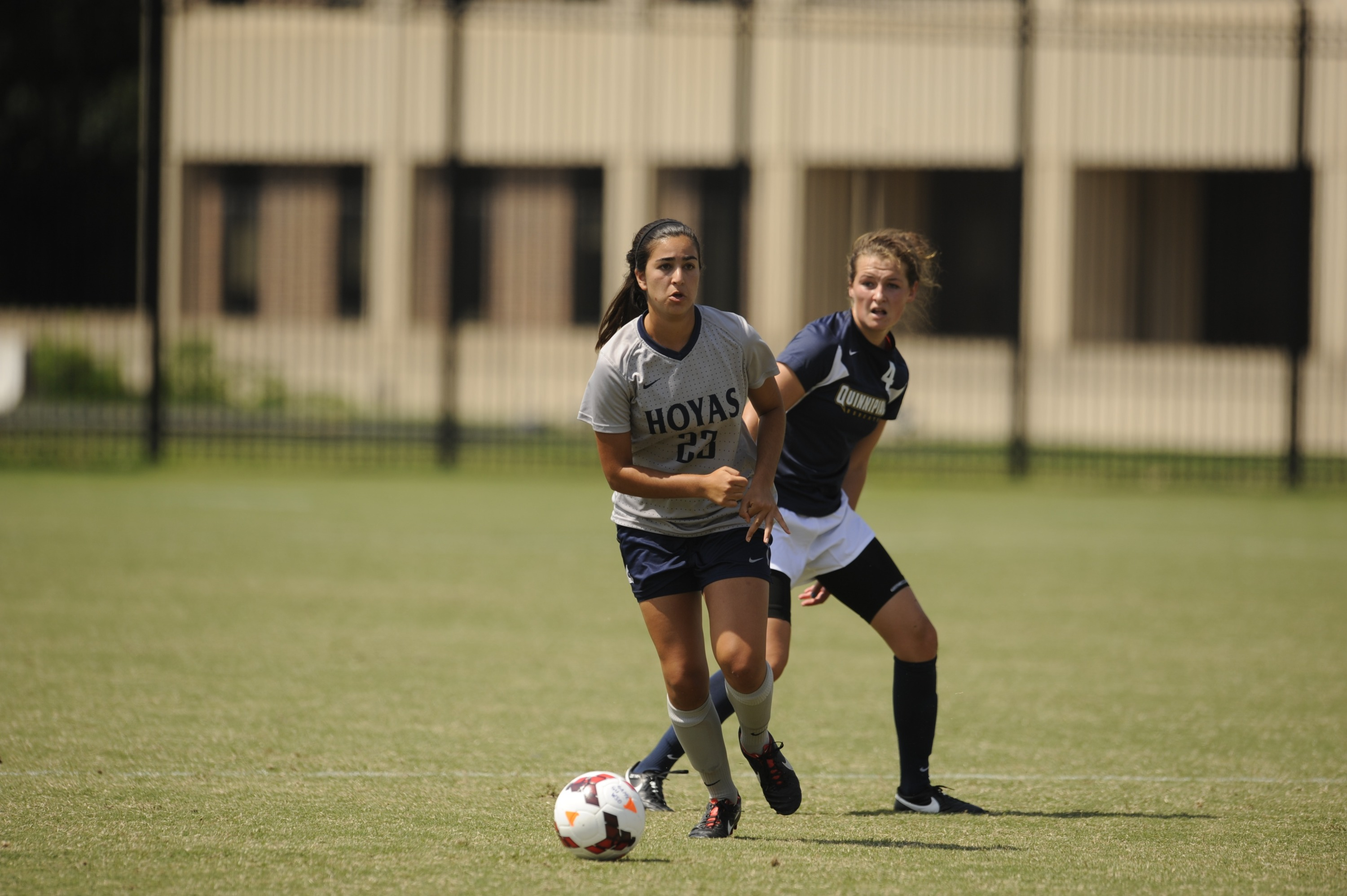 The Georgetown University women's soccer team will host Creighton on Friday, Oct. 30 in the team's last regular season game this year.  Kickoff at Shaw Field is slated for 2:30 p.m.