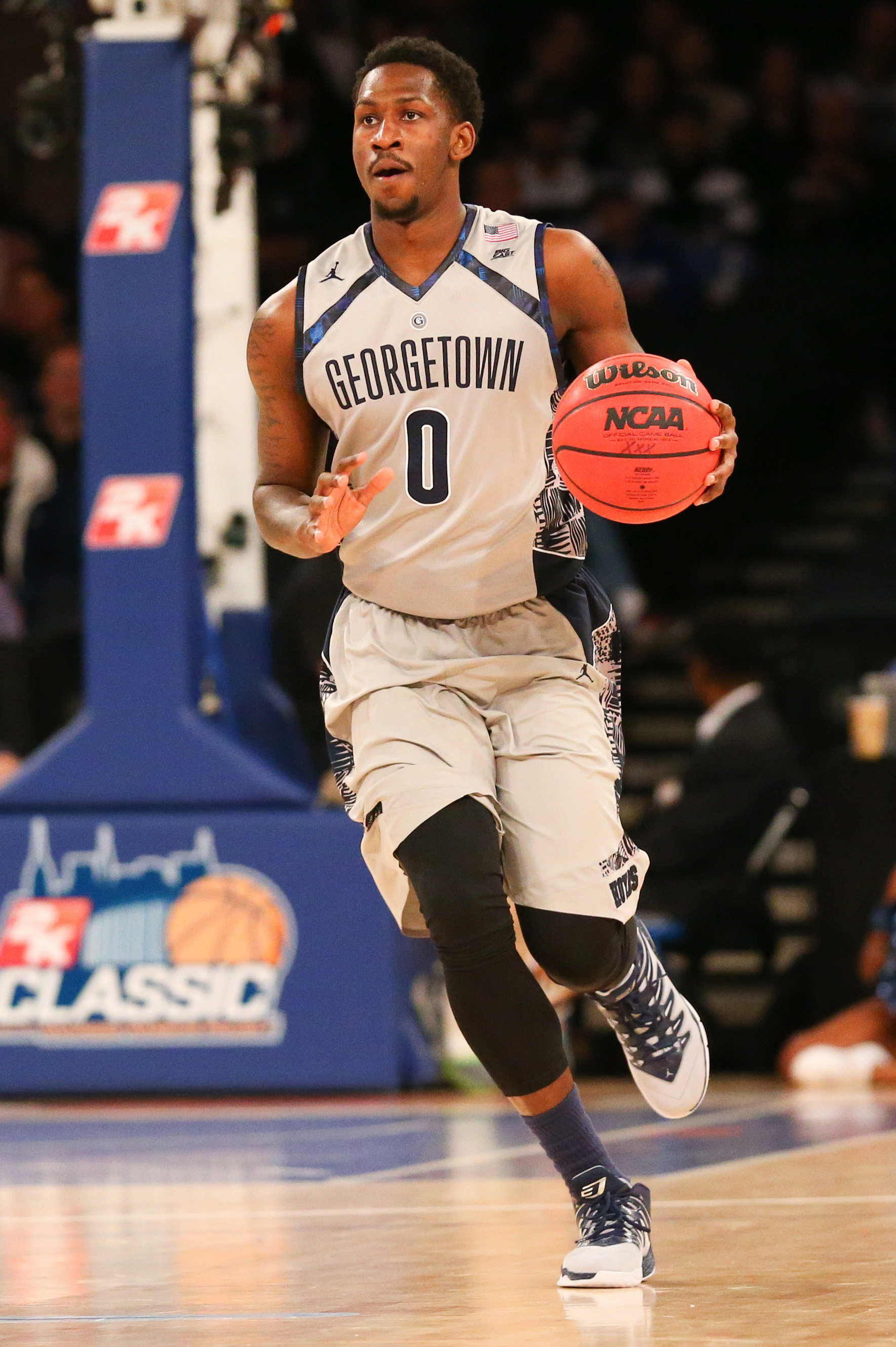The Georgetown University men's basketball team is back in action on Saturday, Nov. 28, hosting Bryant University at Verizon Center.  Tipoff is slated for noon.