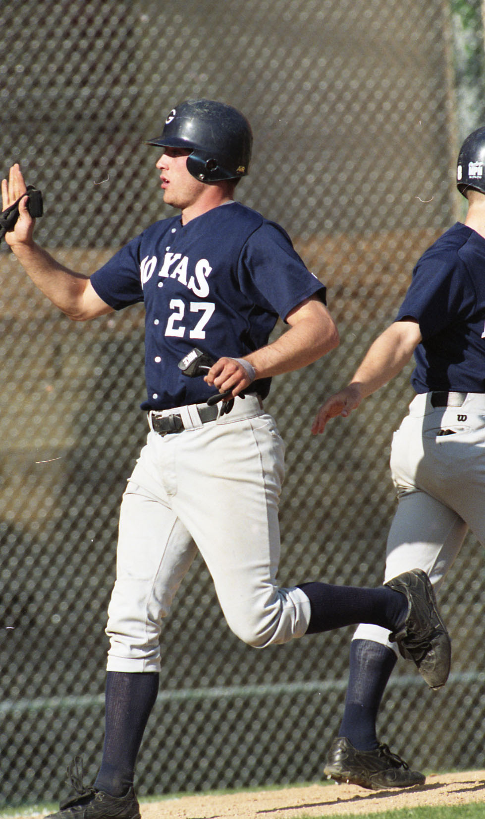 Farley finished with a .274 batting average, 12 home runs and 100 RBI in 193 career games for the Hoyas.