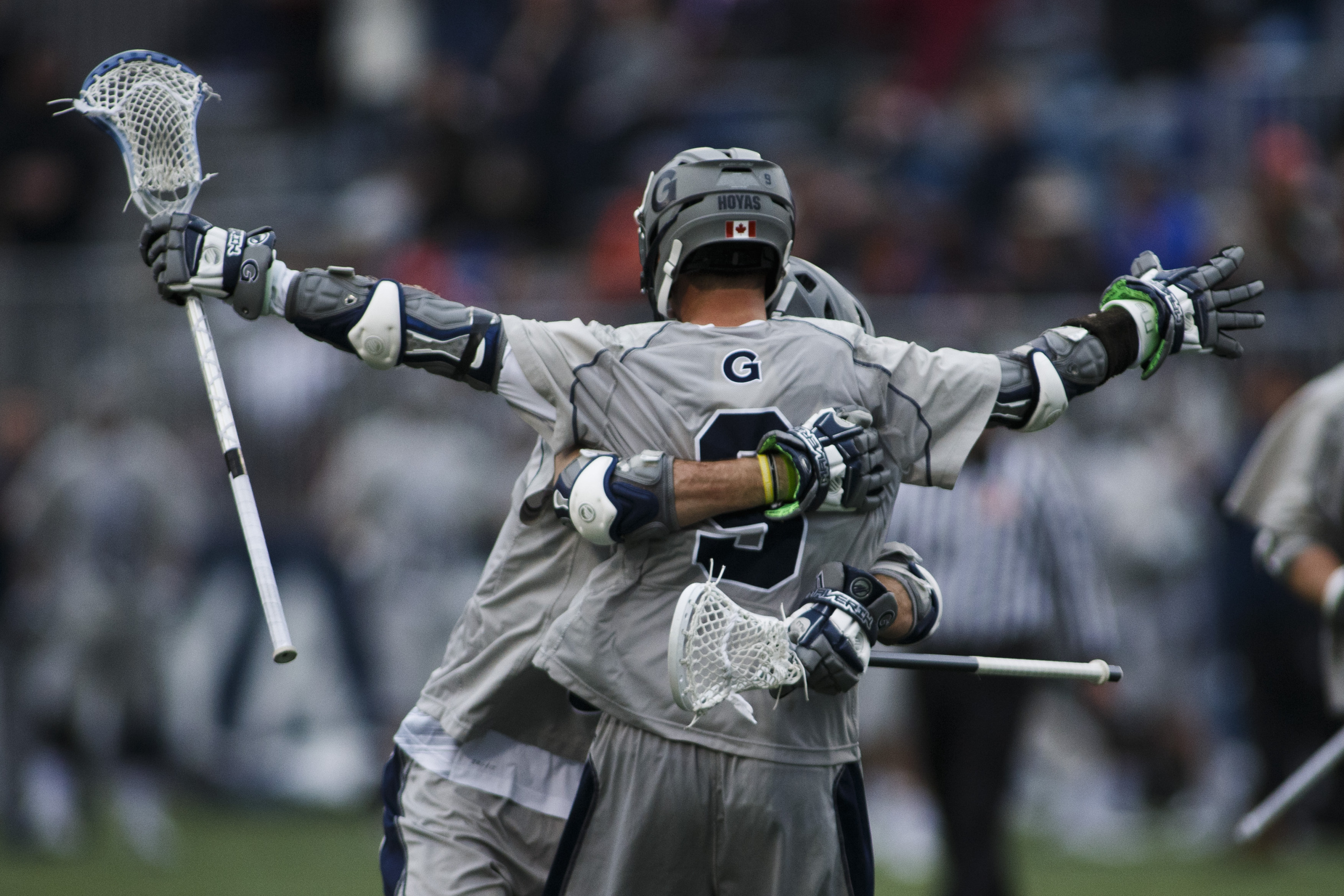 Reilly O'Connor had four assists in the Hoyas victory.