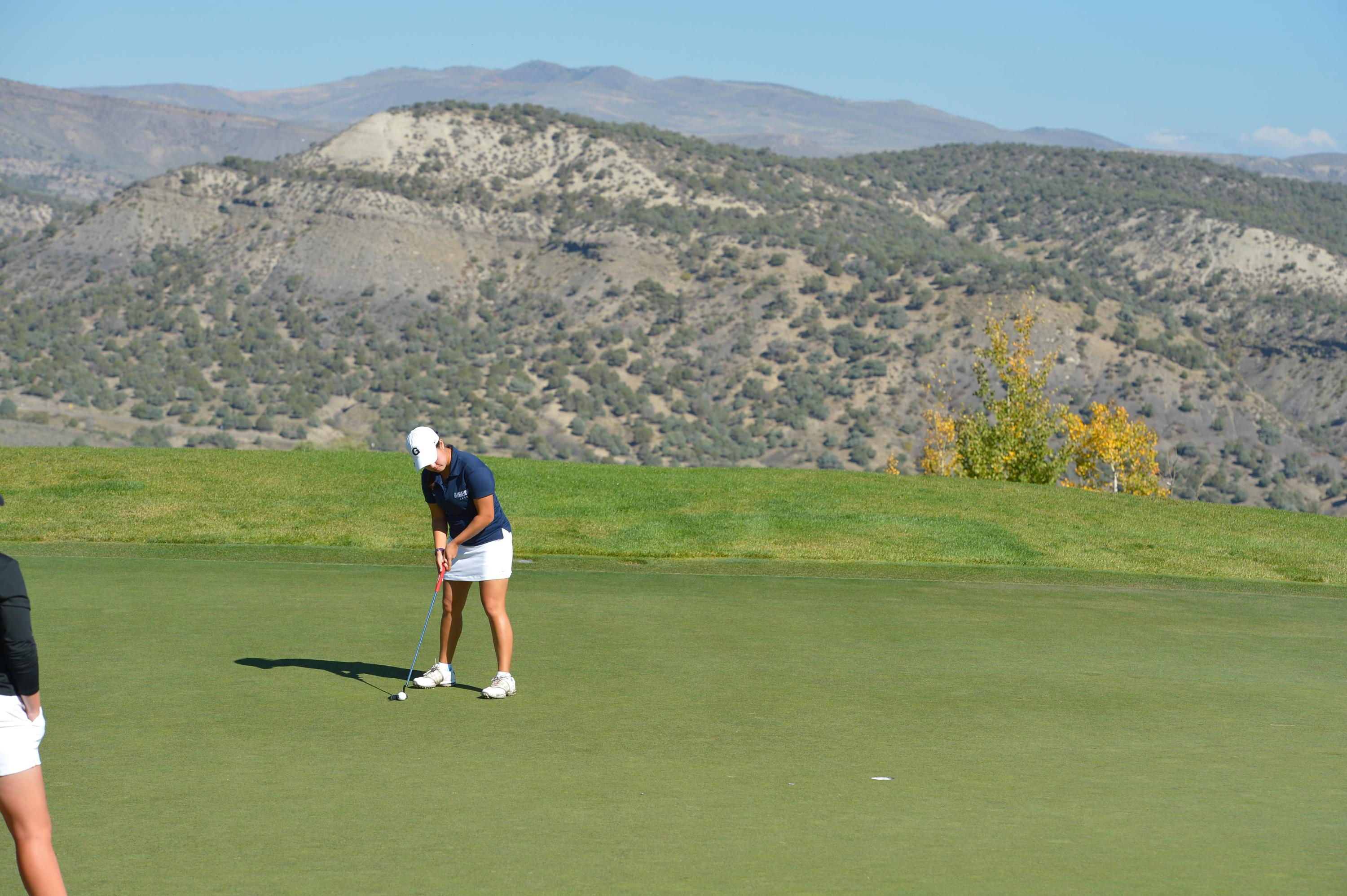 The Georgetown University women's golf team shot a 26-over par 314 and is tied for 13th place after the first round of play at the Kiawah Island Classic, being hosted by the College of Charleston.