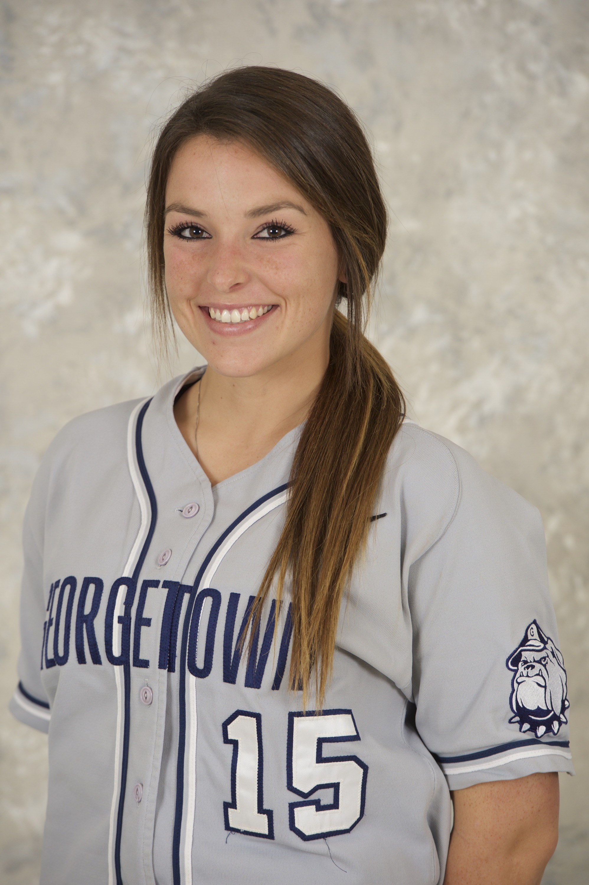 <b> Alessandra Gargicevich-Almeida was one of two Hoyas to record two hits in the win versus Villanova.</b>