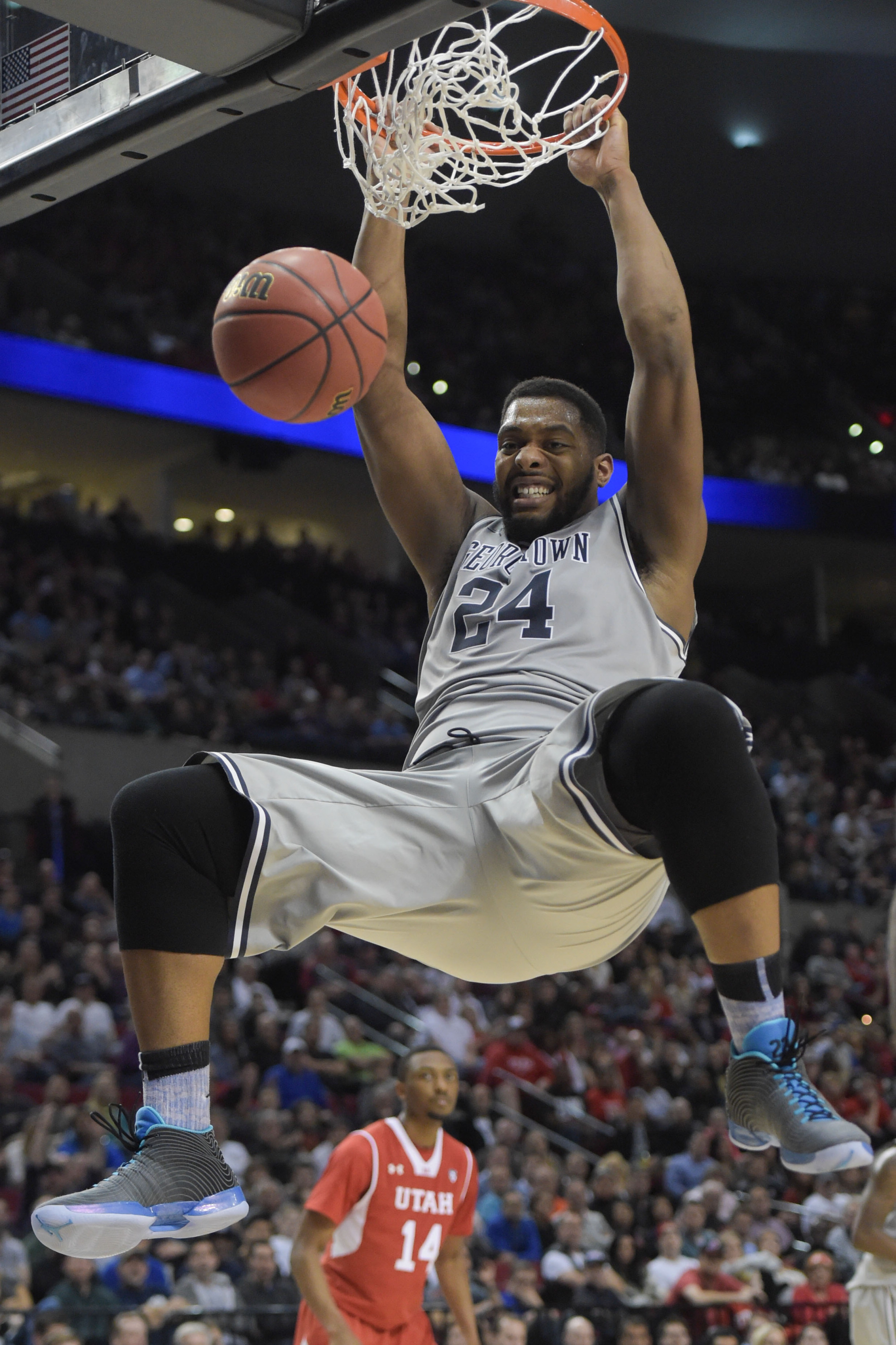 Georgetown lost to Utah, 75-64, in the third round of the NCAA Tournament.