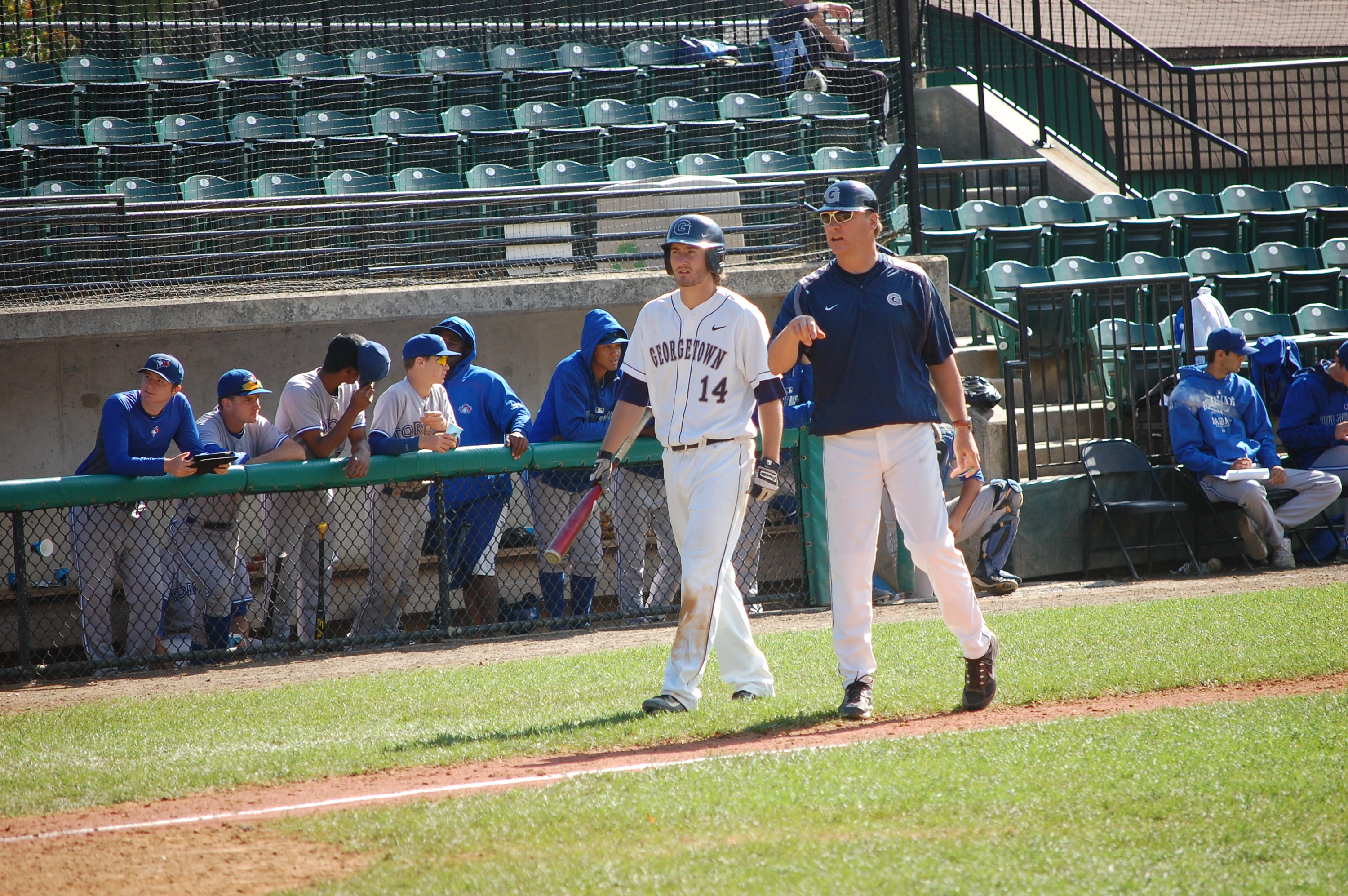 The Hoyas will play Marist at 2 p.m. on Tuesday, March 17 at Shirley Povich Field.