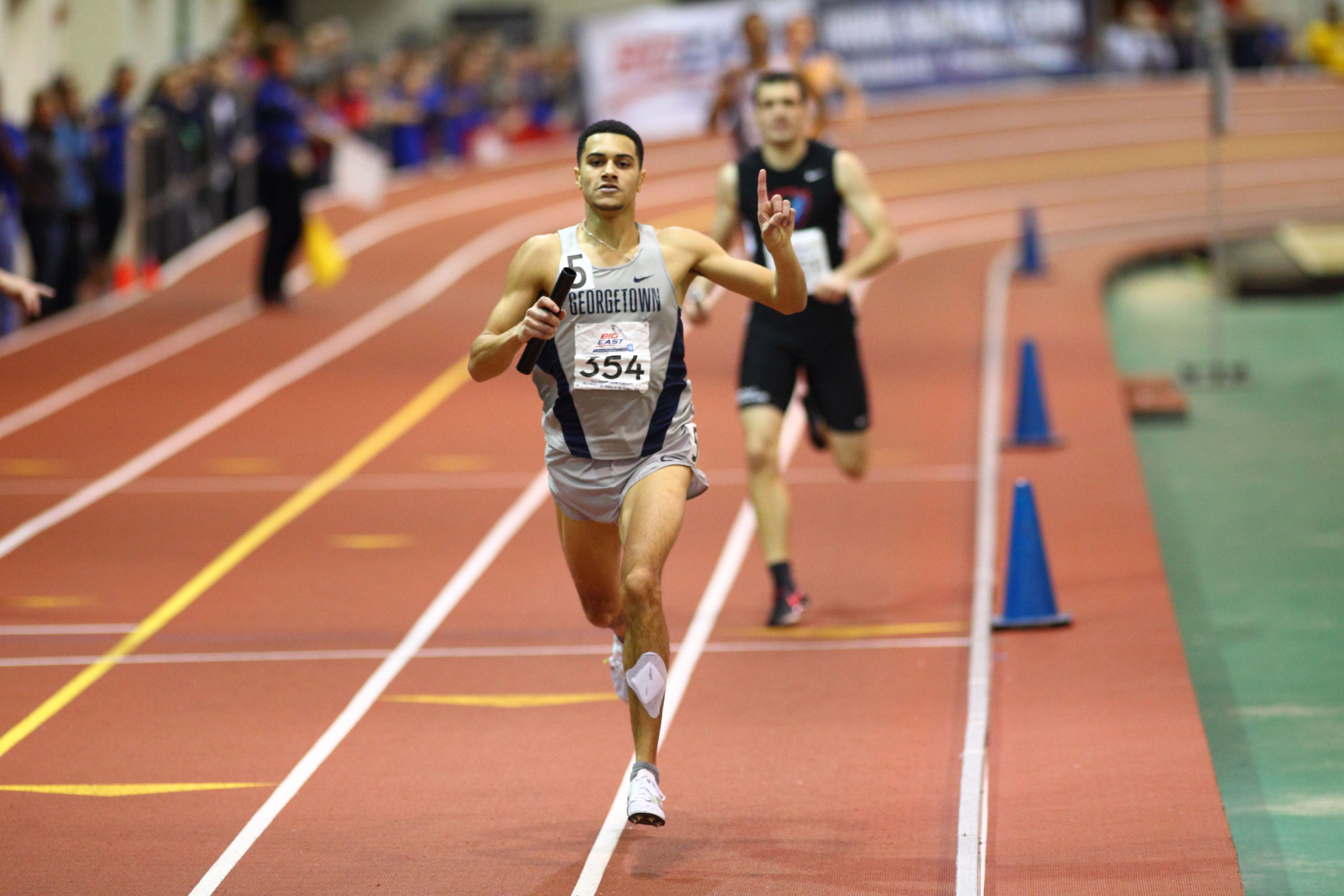 Joe White was named All-BIG EAST in two events (400m, 4x400m relay)