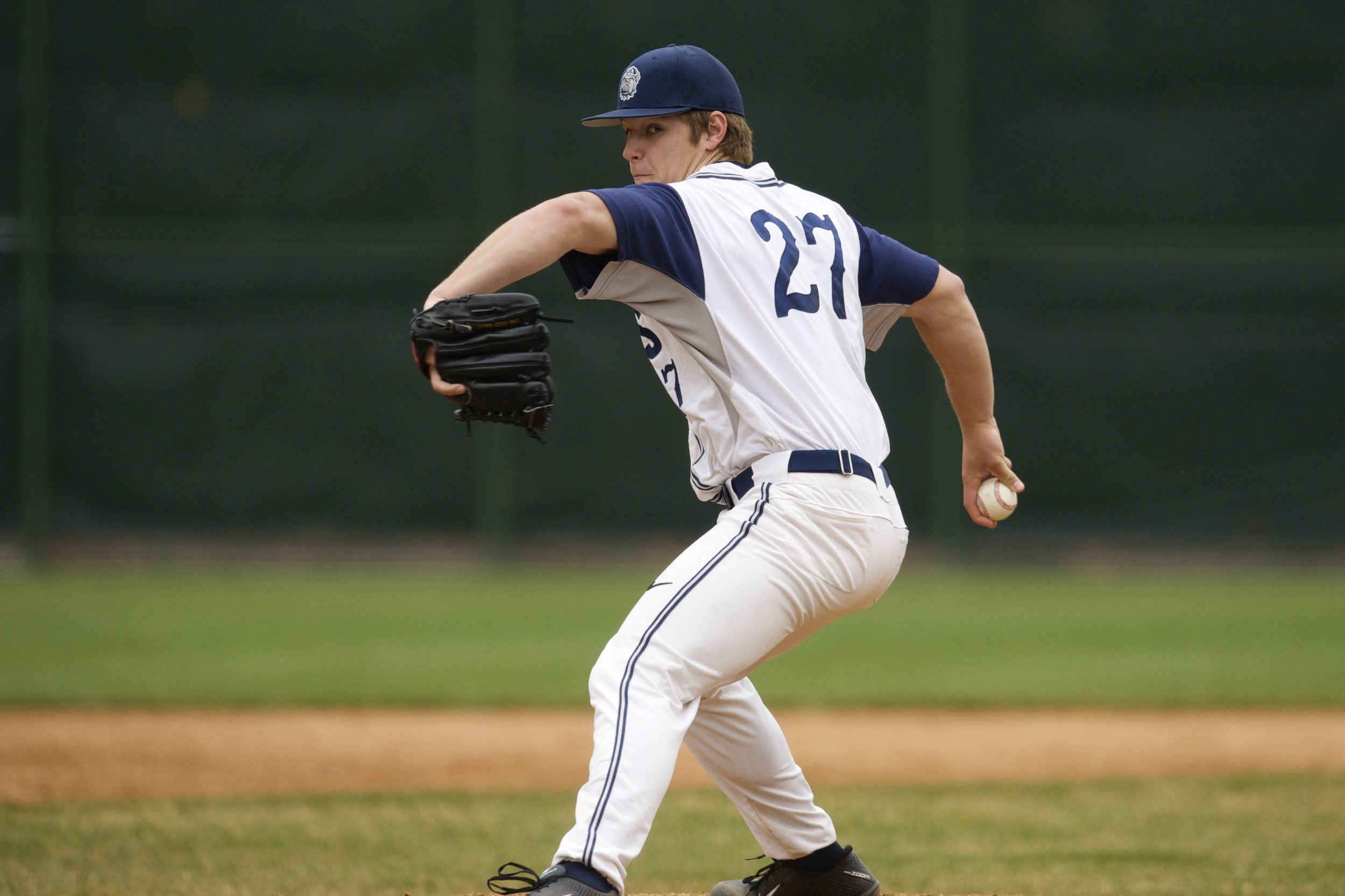 Matt Smith went six innings with eight strikeouts in a 7-1 win over Northwestern.