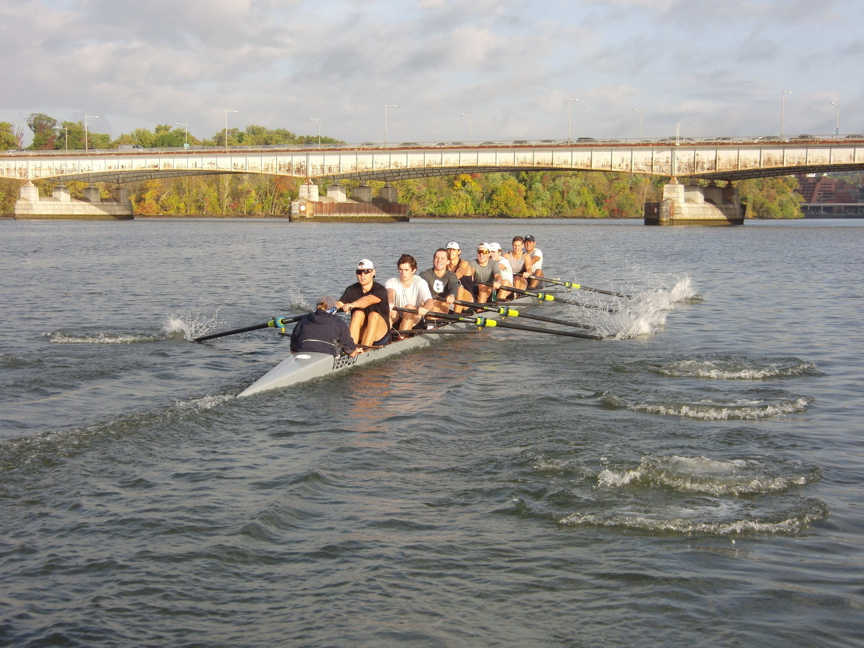 The Hoyas return to the water on Thursday in Wisconsin.