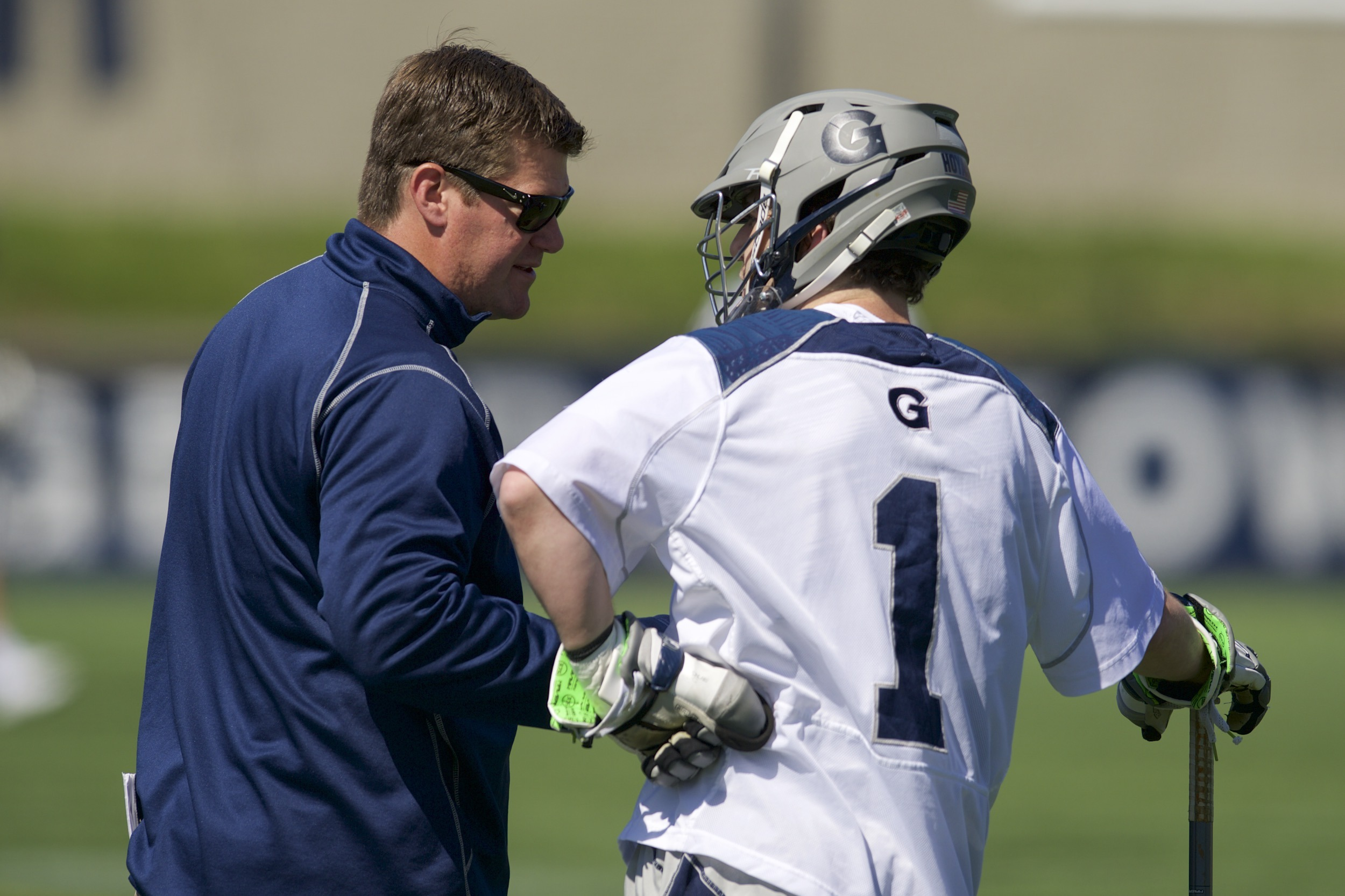 Kevin Warne earned the BIG EAST Coach of the Year in his third season on the Hilltop