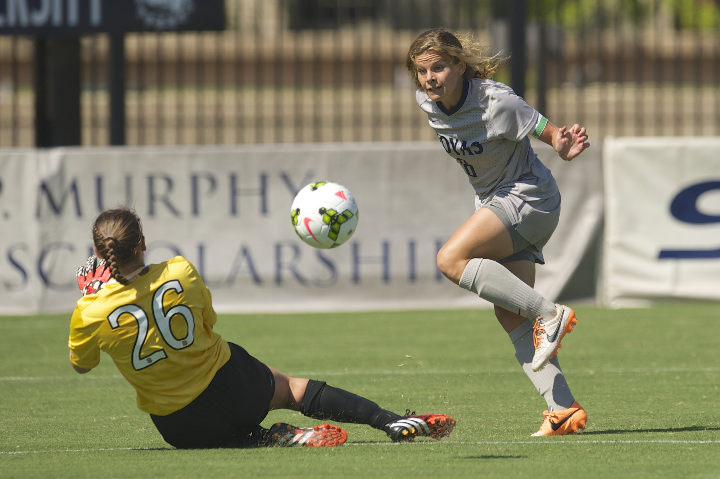 Former Georgetown University women's soccer standout Daphne Corboz (Green Brook, N.J./Watchung Hills) was among a group of players who are competing for the United States Under-23 Women's National Team during a four-team tournament in Norway.