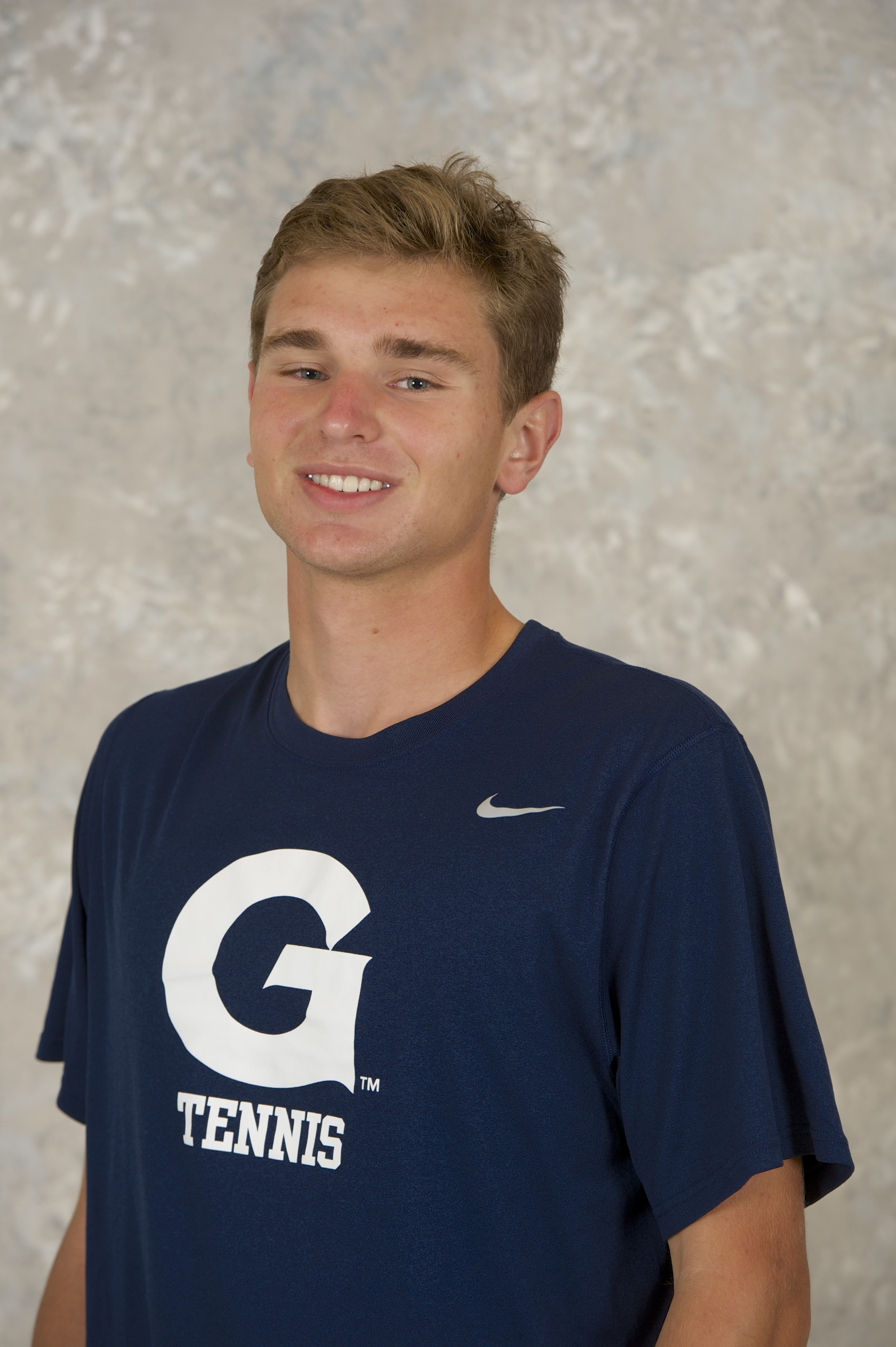 <b> Freshman Peter Beatty was one of two freshman selected to the 2015 All-BIG EAST Team.</b>