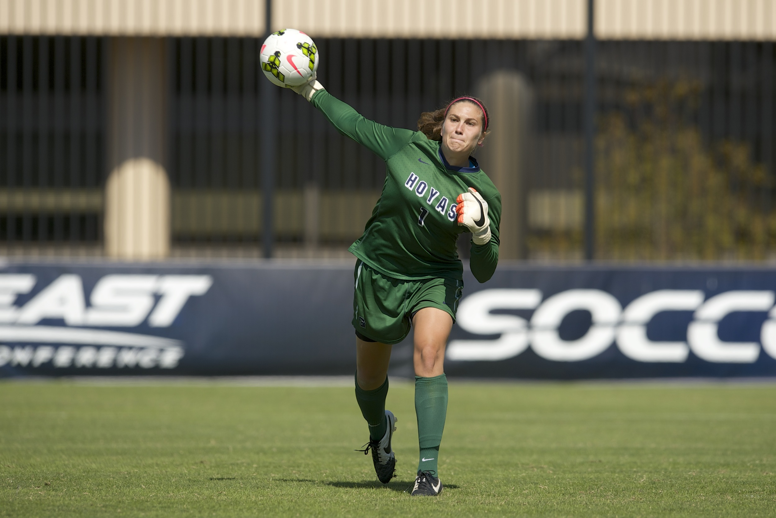 Georgetown scored early in the second half to break a scoreless tie and take the lead, but No. 25 Connecticut took advantage of key opportunities in the second half en route to a 2-1 win over the Hoyas at Shaw Field on Thursday afternoon.
