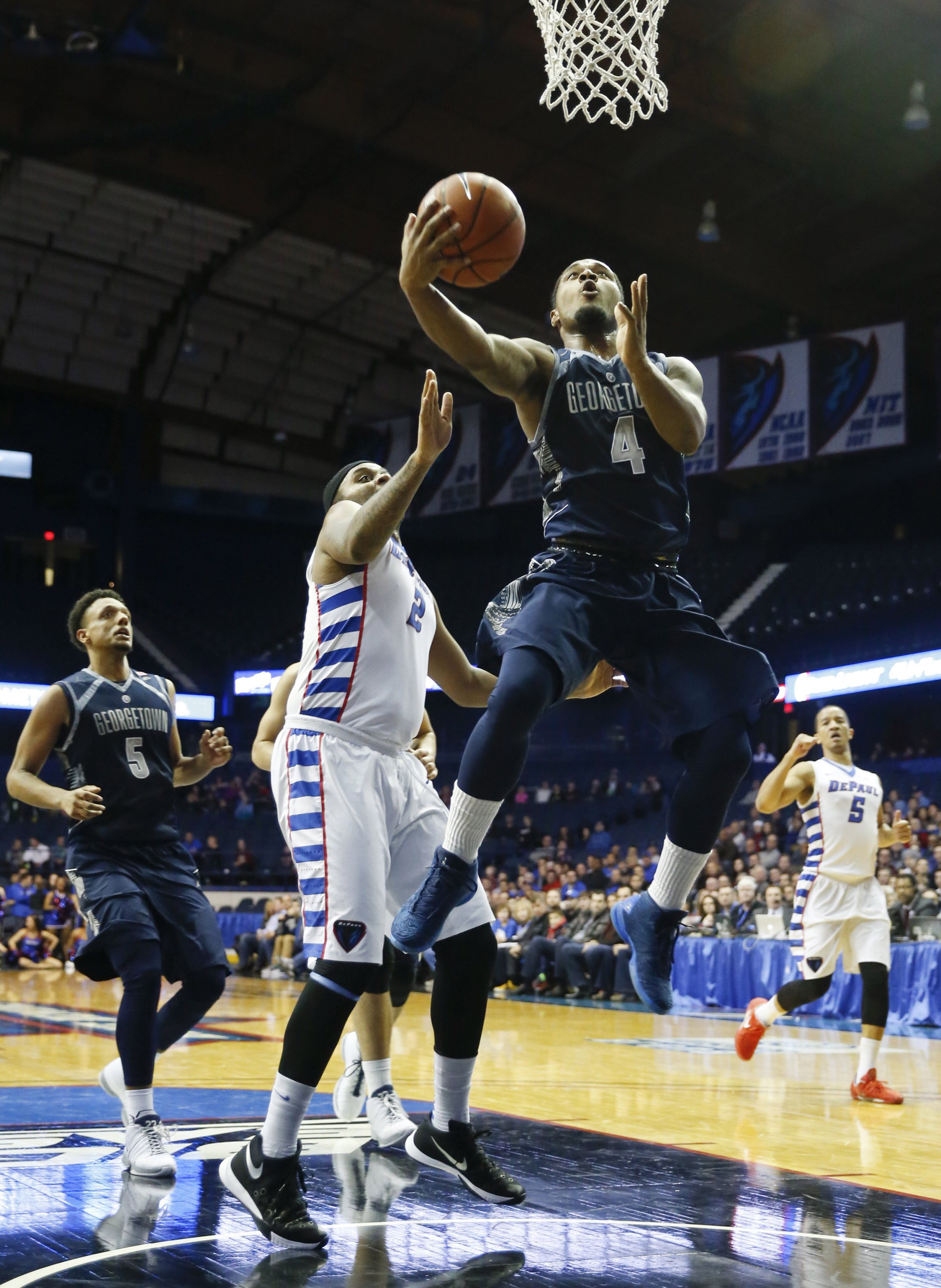 The Georgetown University men's basketball team will ring in the 2016 New Year on Saturday, Jan. 2, hosting BIG EAST Conference rival Marquette at Verizon Center.  Tipoff is slated for 5:30 p.m.