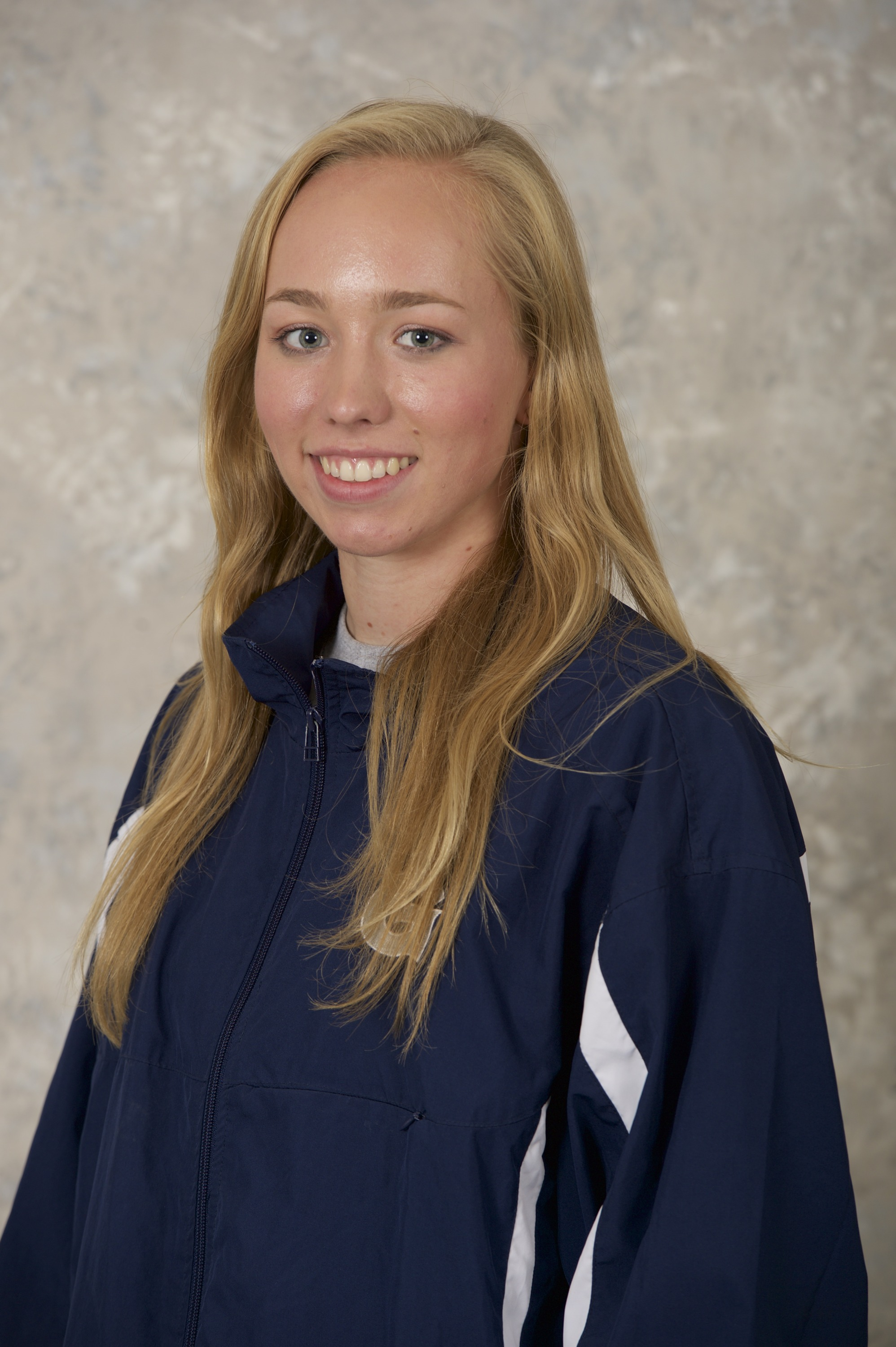 Carrie Bonfield won the 500-yard and 1,000-yard freestyle in the GU women's victory over Drexel.