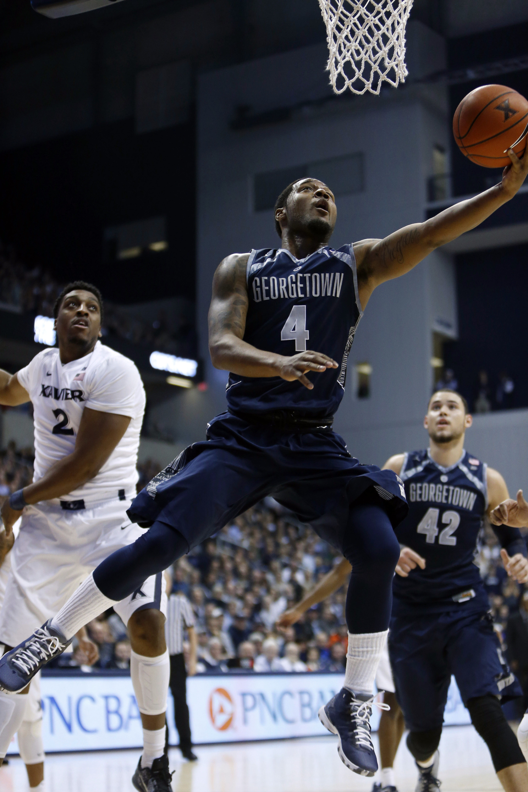 The winter storm that hit much of the East Coast over the weekend didn't prevent the Georgetown men's basketball team from preparing for it next game, as the Hoyas host BIG EAST Conference rival Creighton on Tuesday, Jan. 26.  Tipoff at Verizon Center is slated for 6:30 p.m.