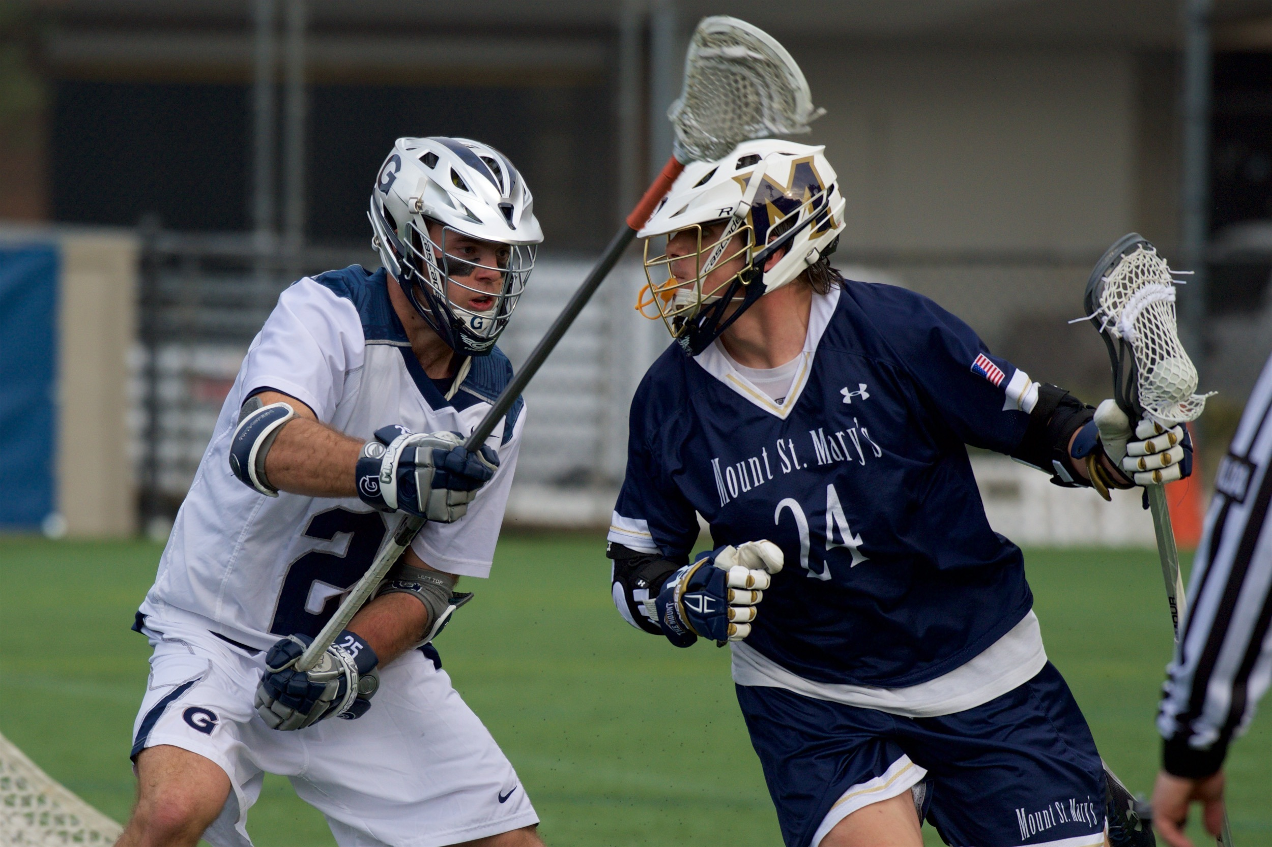 Charlie Ford and the Hoya defense held high-scoring Hofstra to a season-low six goals.
