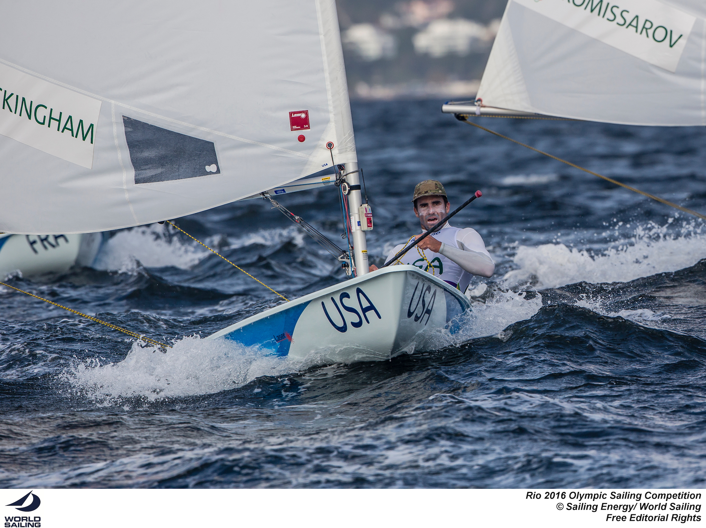 Charlie Buckingham (Photo courtesy of US Sailing)