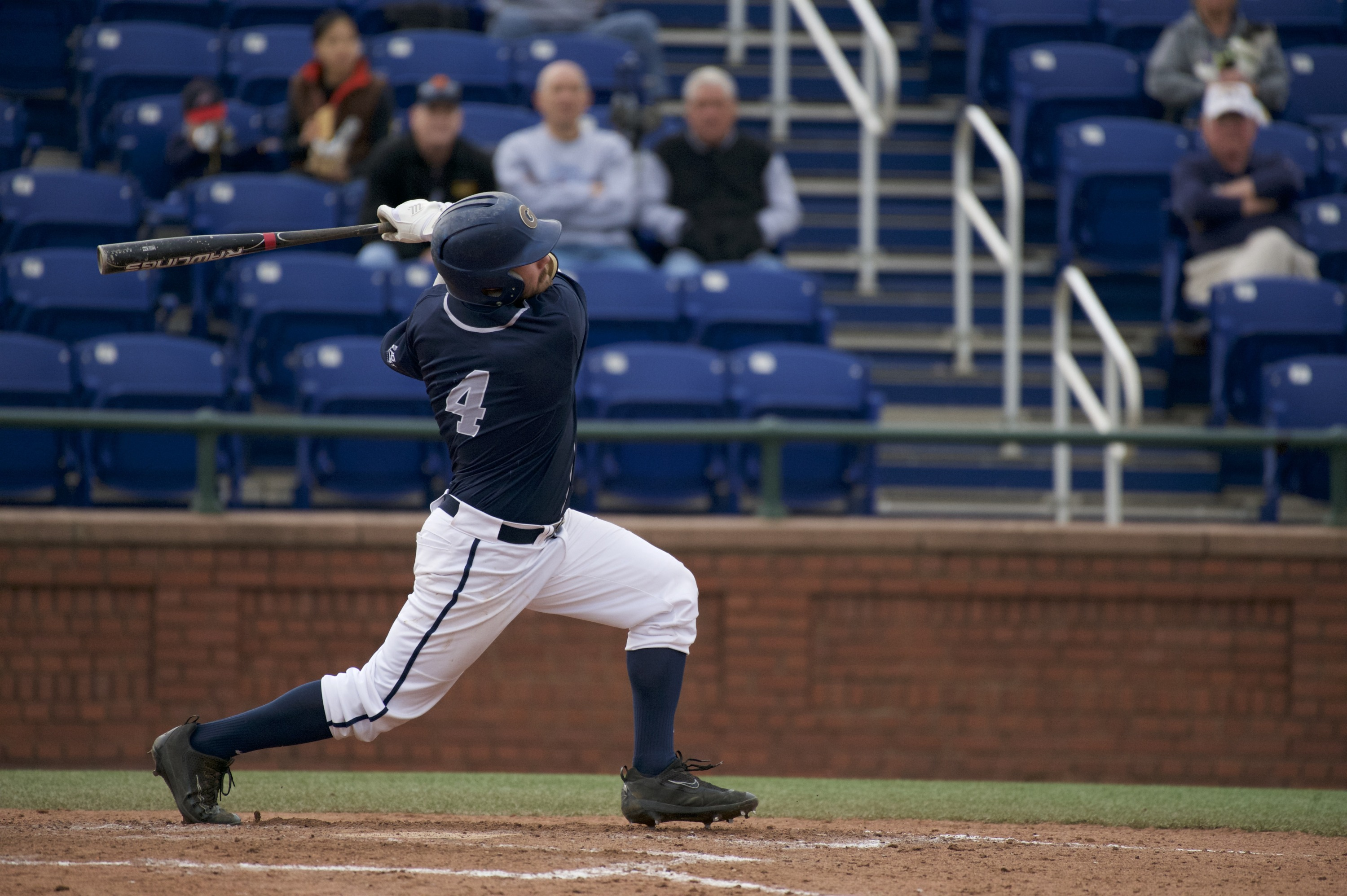 Beau Hall had three hits and three RBI in Georgetown's win in game two.