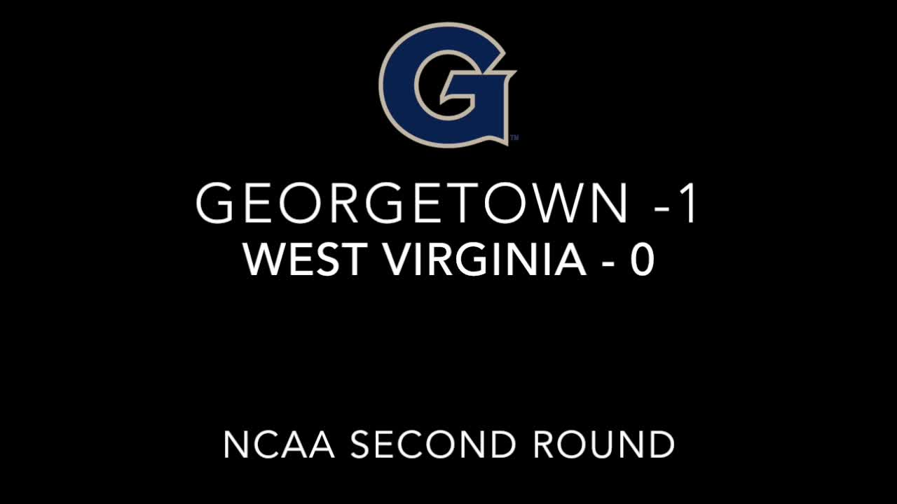 Georgetown vs. West Virginia
