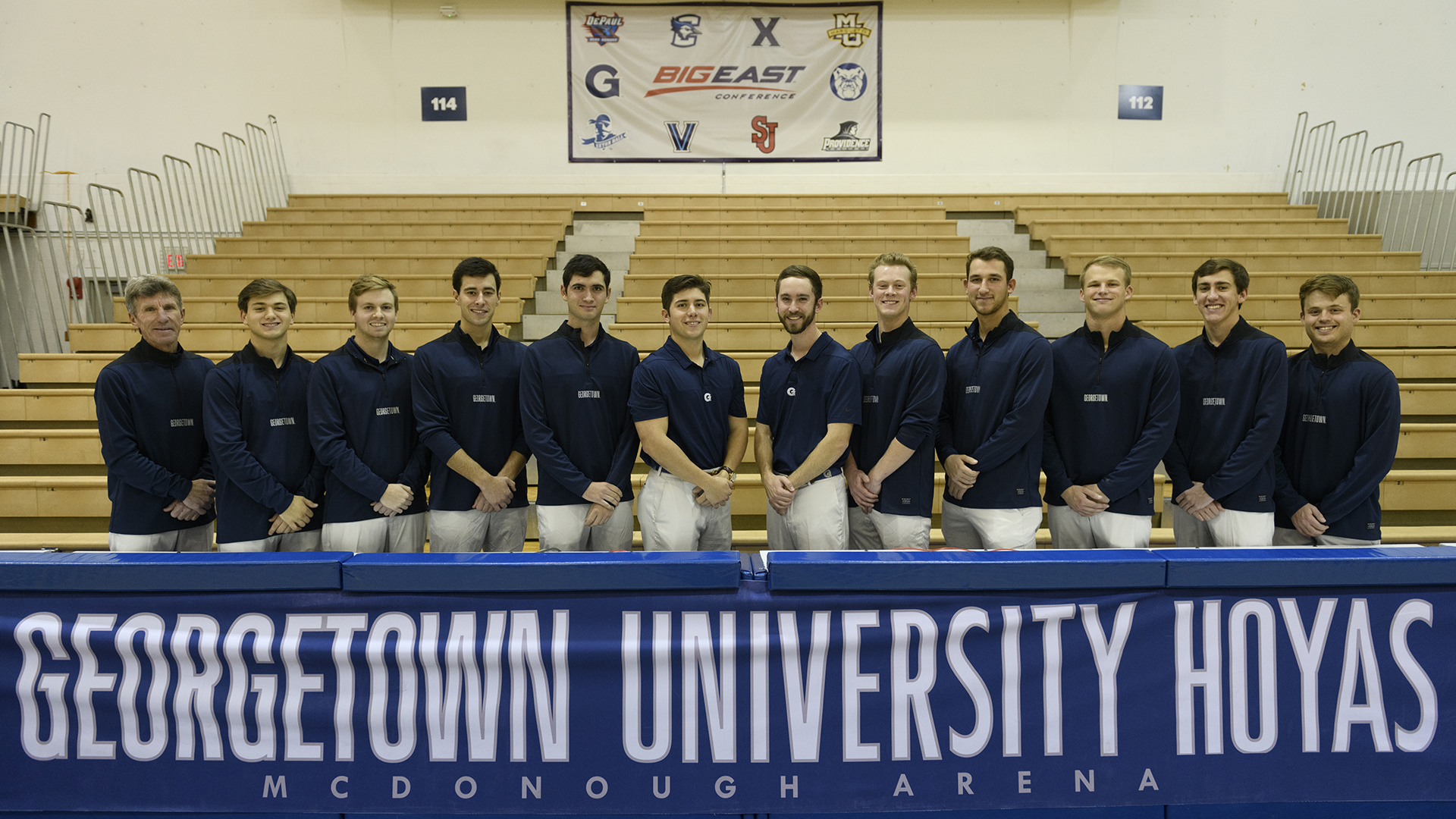 2018-19 Georgetown Men's Golf Team