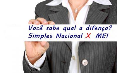 Principais diferenças entre Simples Nacional e MEI