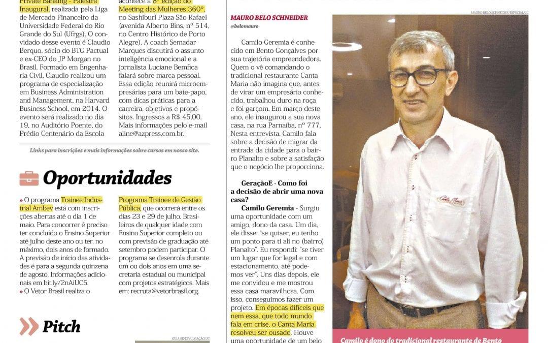 Franquia digital é destaque no Jornal do Comércio de Porto Alegre