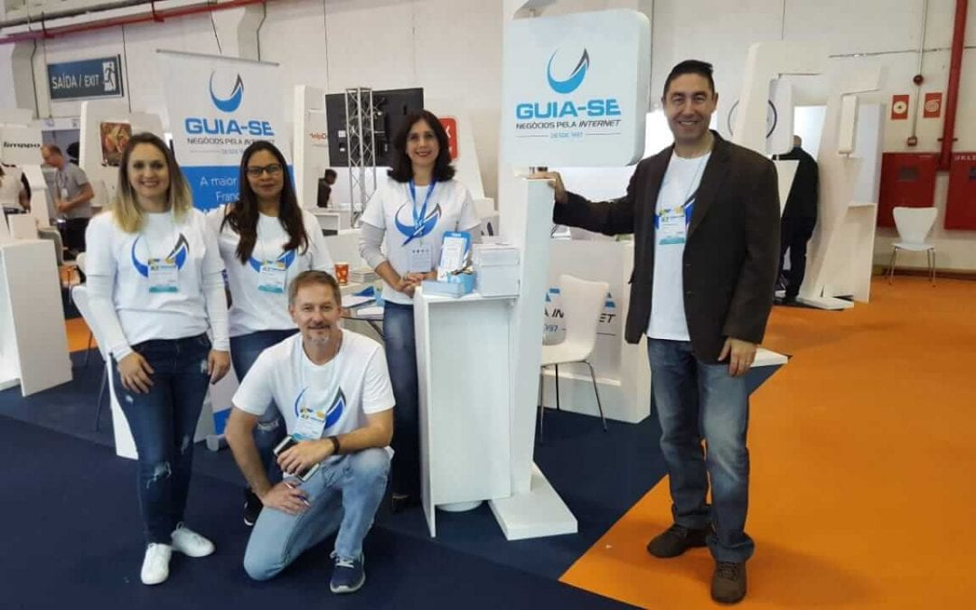 Franquia de marketing digital Guia-se participa da ABF Expo 2018