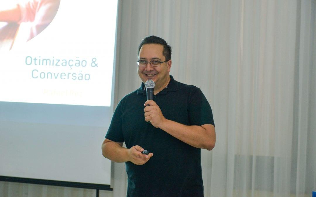 Rafael Rez fala sobre otimização e conversão em evento da Guia-se