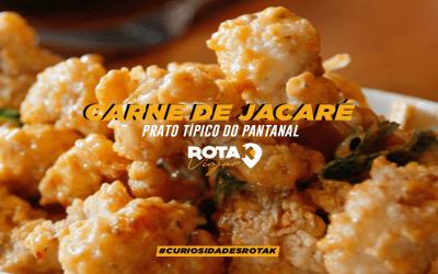 Carne de Jacaré