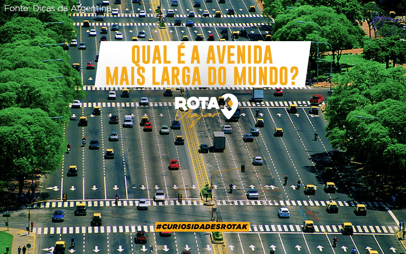 Qual é a avenida mais larga do mundo?