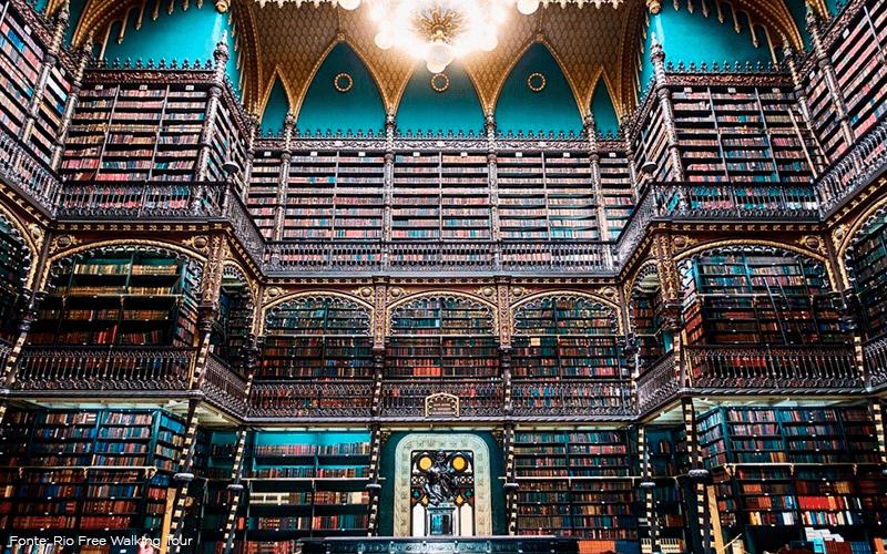 Conheça uma das bibliotecas mais lindas do mundo! Ela fica no Rio de Janeiro!