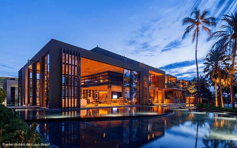 10 hotéis incríveis e diferenciados no Brasil