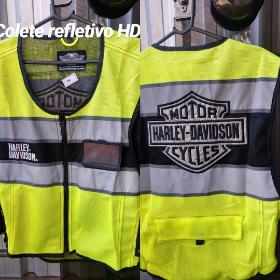 Colete Refletixo Harley Davidson