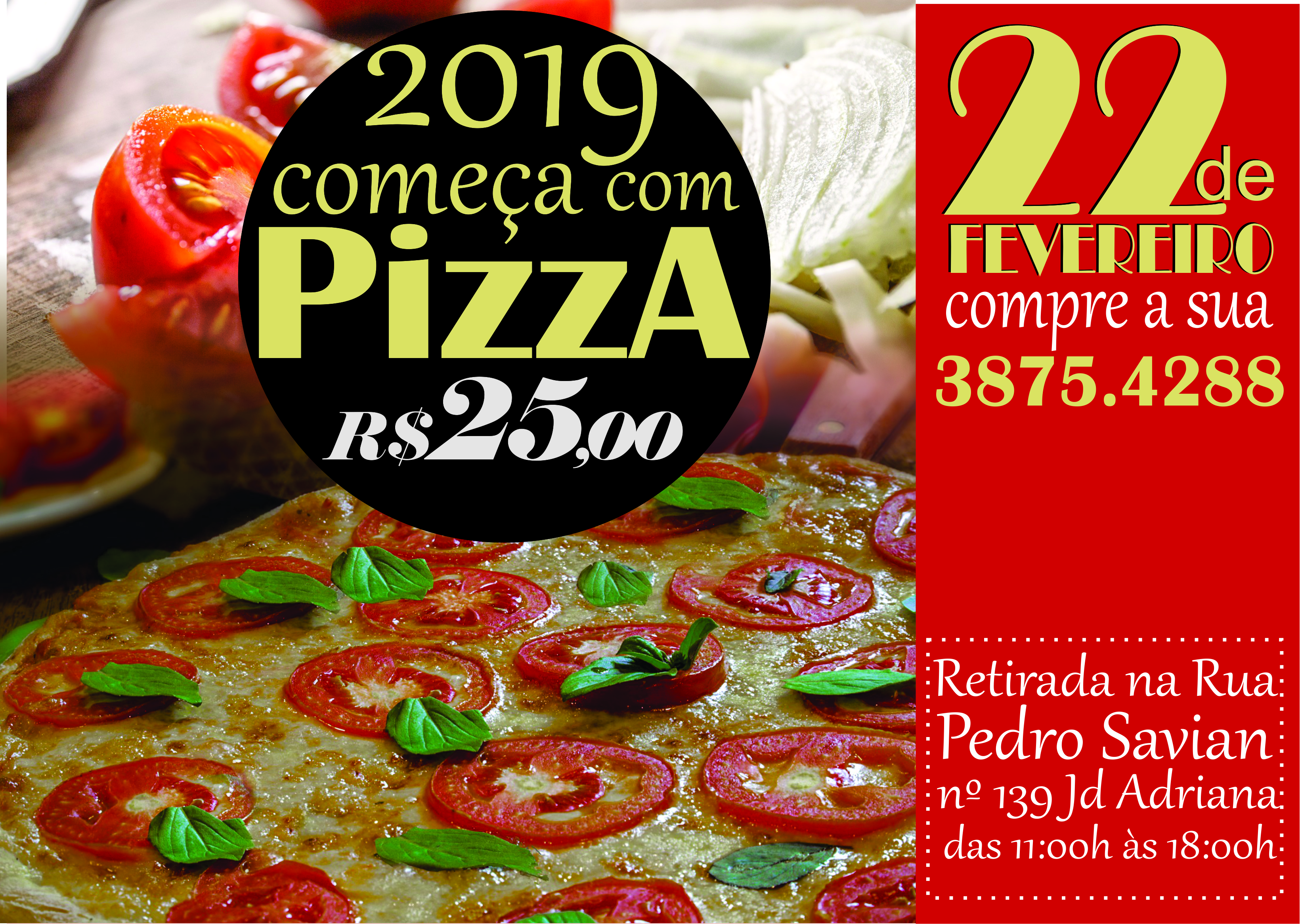2ª PIZZA BENEFICENTE