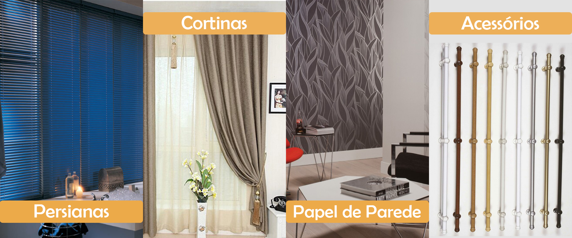 Cortinas e Persianas