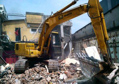 empresa demolição, demolições