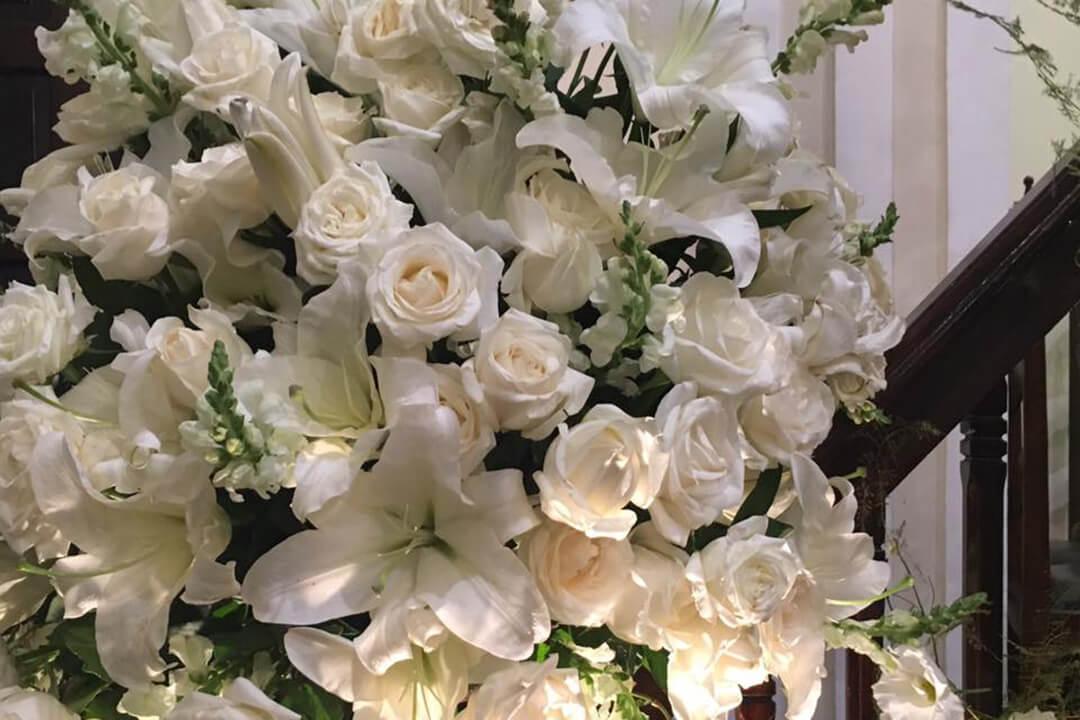 Decoração cerimonia de bodas - Festejare Decorações e Flores